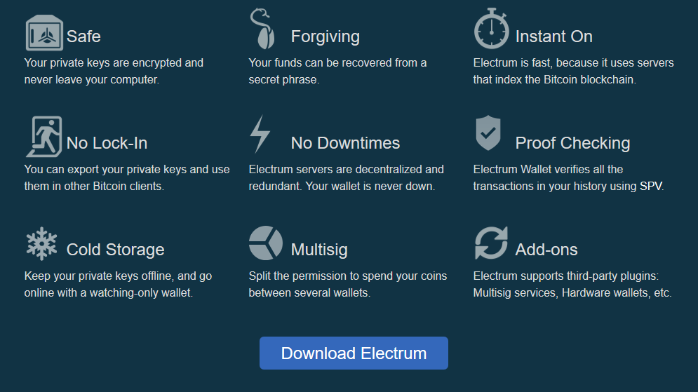bitcoin electrum wallet tutorial