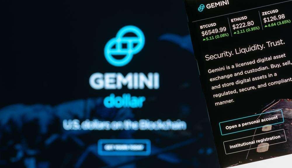 gemini cryptocurrency price