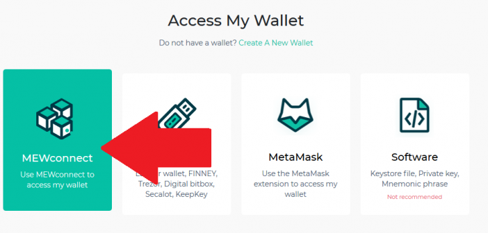 connect Ethereum Wallet to blockchain