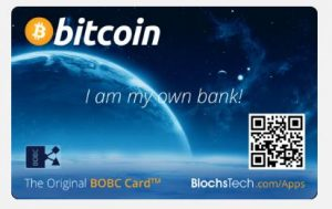 Blochtech Bitcoin Smart Card