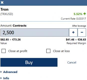 Buy Tron