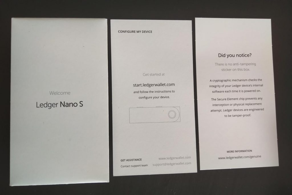 Recovery Seed Ledger Nano S