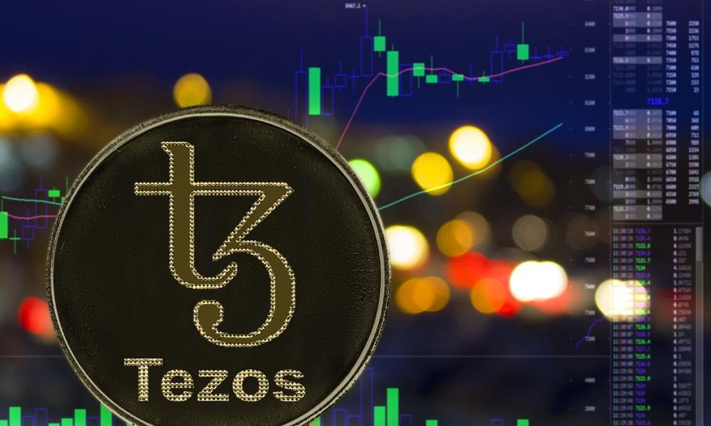 tezos cryptocurrency price