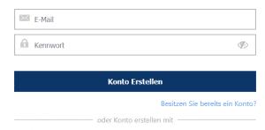 TRON CFD kaufen auf Plus 500 Loginseite