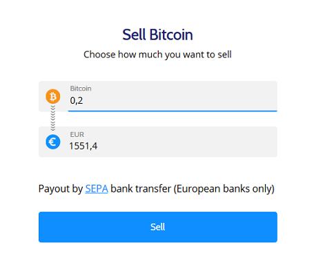 Coinmama sell Bitcoin