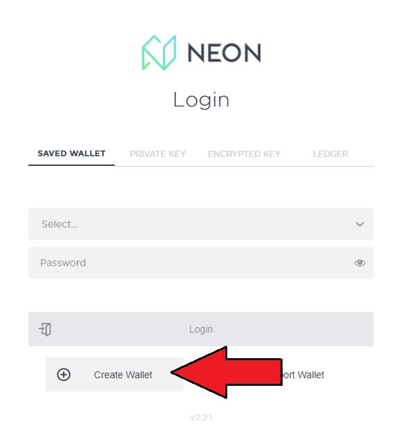 NEO NEON Wallet