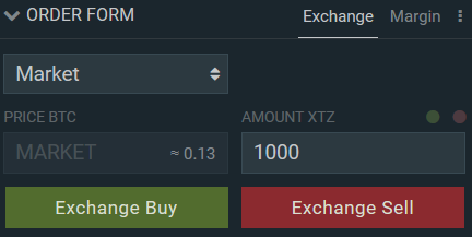 Buy Tezos with Bitcoin on Bitfinex
