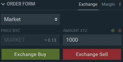 Comprar Tezos com Bitcoin em Bitfinex