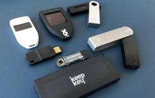 Hardware wallet test 2019