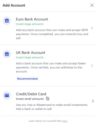 Coinbase add bank account