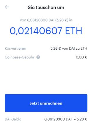 coinbase Kryptowährungen traden