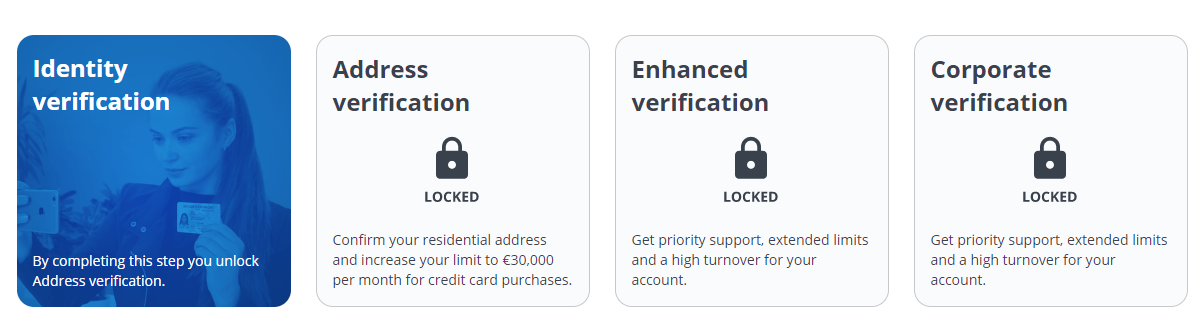 CEX Verification Options