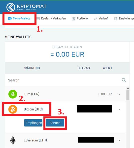 kriptomat wallet