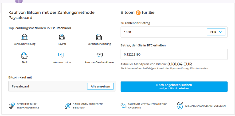 Bitcoins per paysafecard kaufen trading multiple binary options accounts