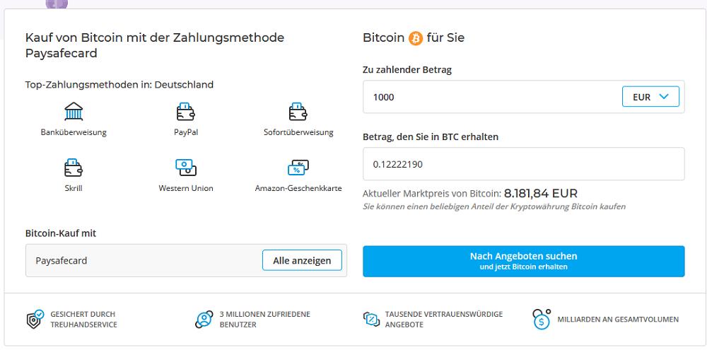 Paysafecard Mit Bitcoin Kaufen