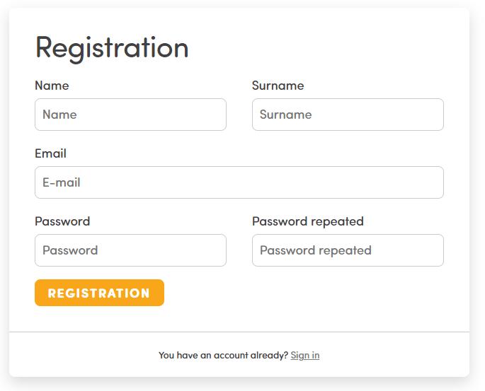 bitcoin store registration
