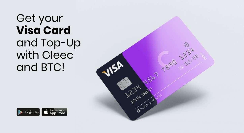 Gleec's newest crypto Visa card bridges the gap between fiat and crypto