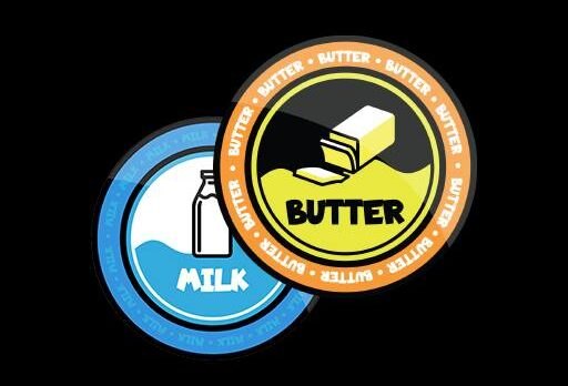 milk buttter