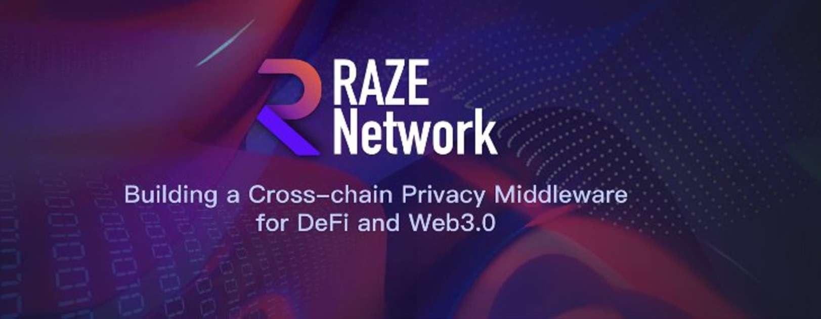 Raze Networks begins Initial DEX Offering on DuckStarter, PoolZ, Bounce