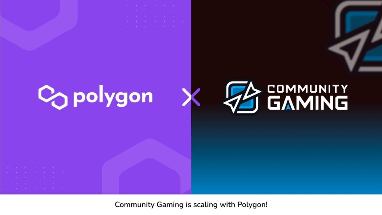 Polygon and Community Gaming partnered for scalable esports tournaments